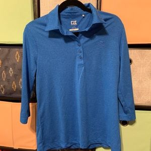 Ladies Cutter & Buck AT&T SPREE POLO Large